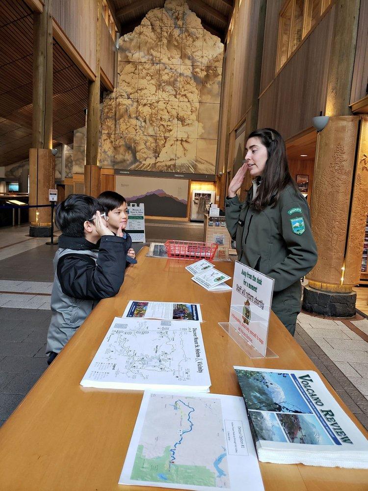 Mount St. Helens Visitor Center: 3029 Spirit Lake Hwy, Castle Rock, WA