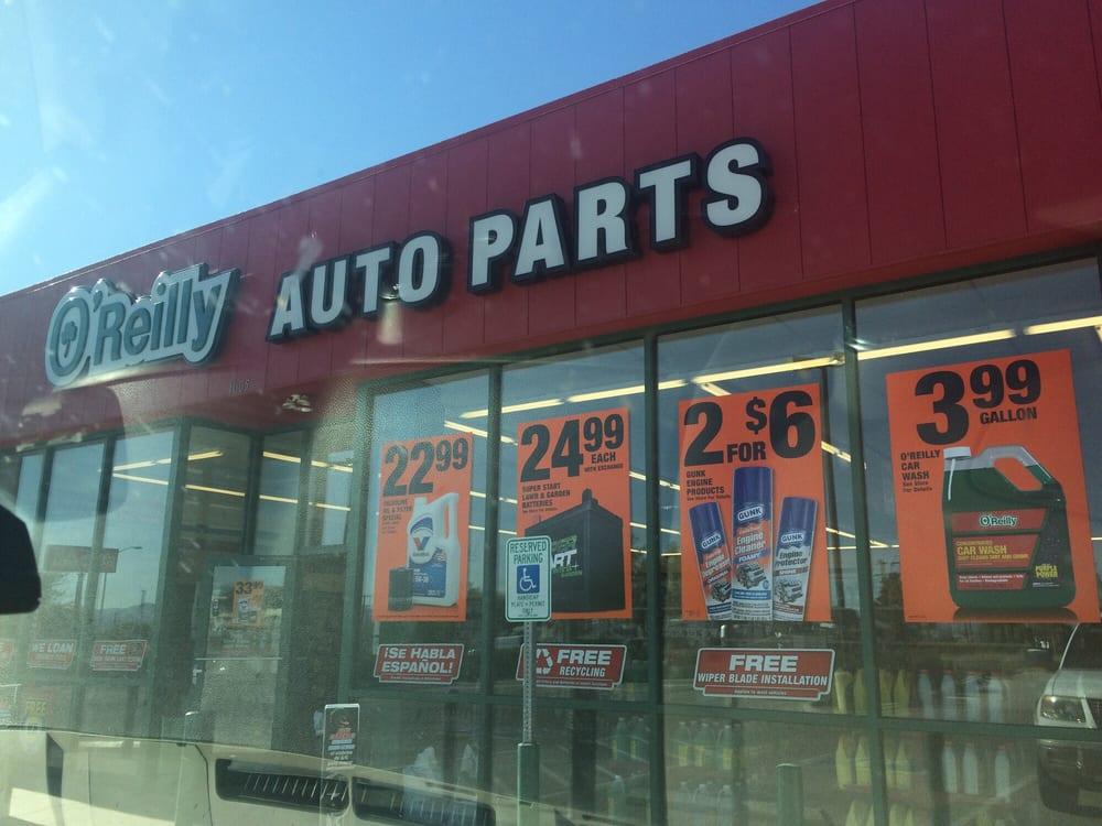 O'Reilly's Auto Parts: 1005 W 4th St, Benson, AZ