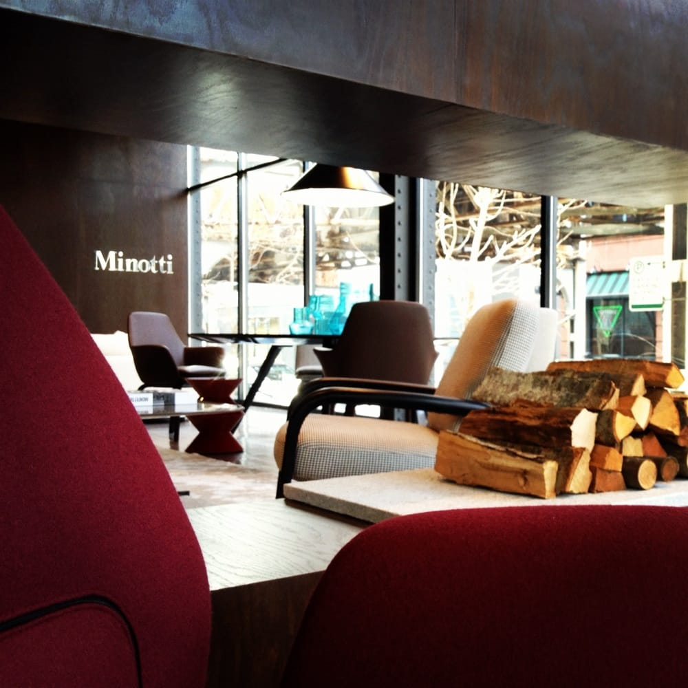Minotti chicago furniture stores 223 w erie st river for M furniture warehouse chicago