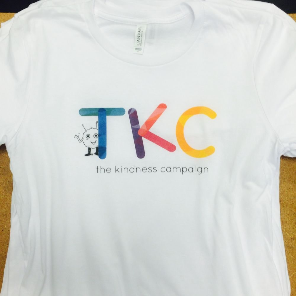 Direct to garment printed t shirts for the kindness for Dtg printed t shirts