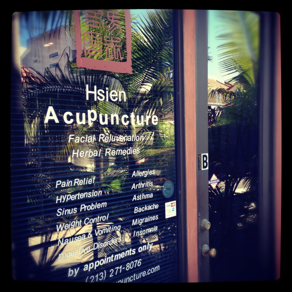 Hsien Acupuncture: 3401 Pacific Ave, Marina del Rey, CA