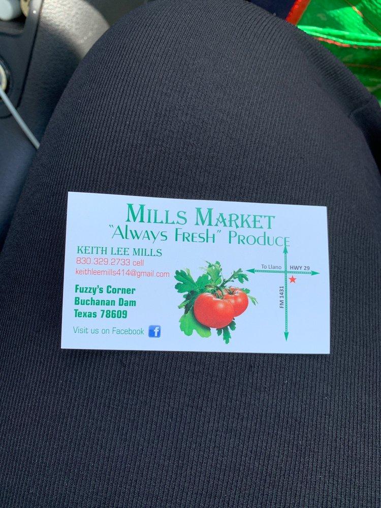 Mills Market: 15224 TX-29, Buchanan Dam, TX