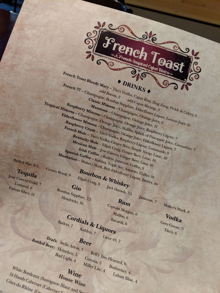 French Toast Bistro - 444 Photos & 378 Reviews - Cajun