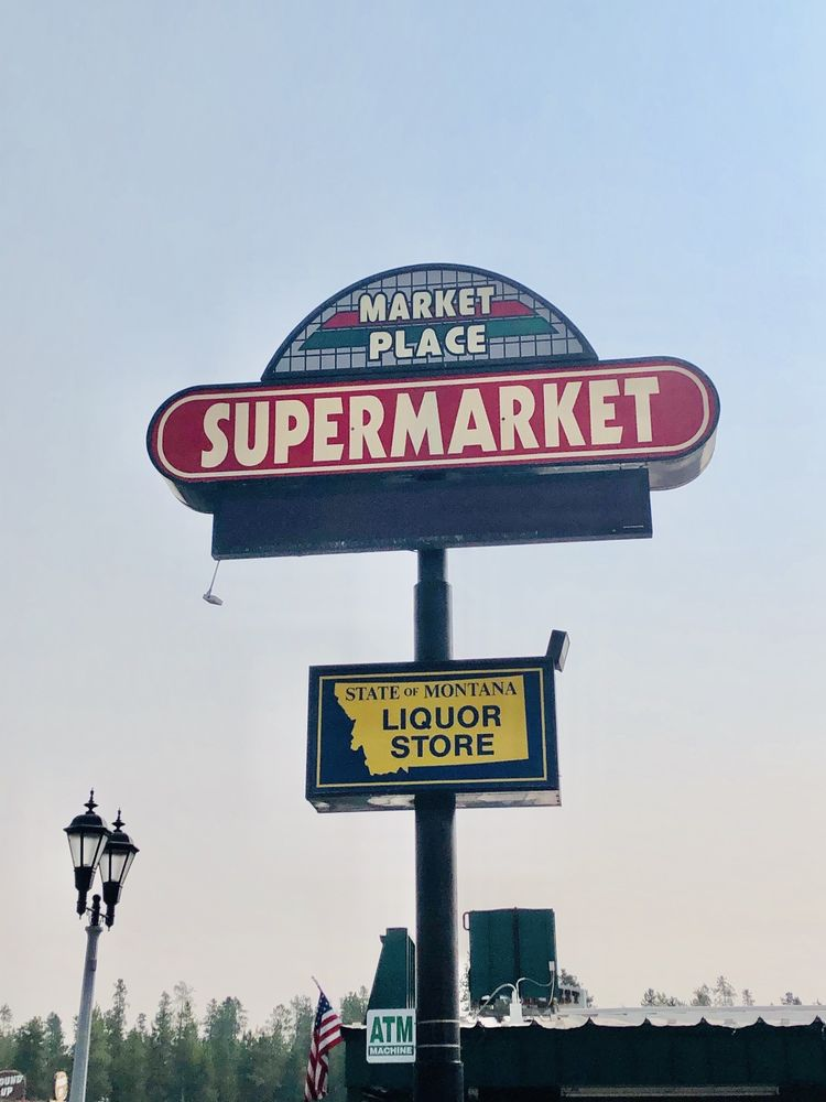 Market Place Supermarket: 22 Madison Ave, West Yellowstone, MT
