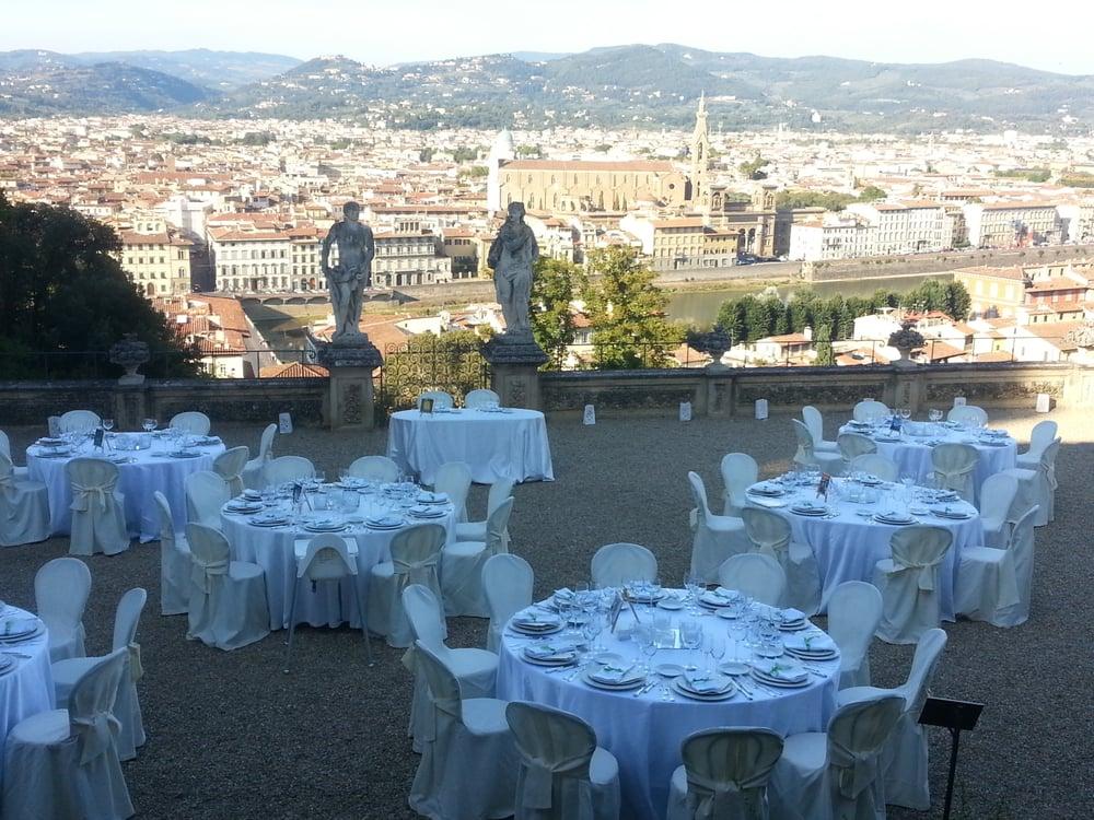 La Terrazza di Villa Bardini si presta perfettamente come location ...