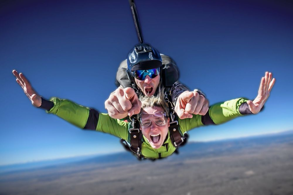 Out of the Blue Skydiving: 21650 State Road 40/287, Limon, CO