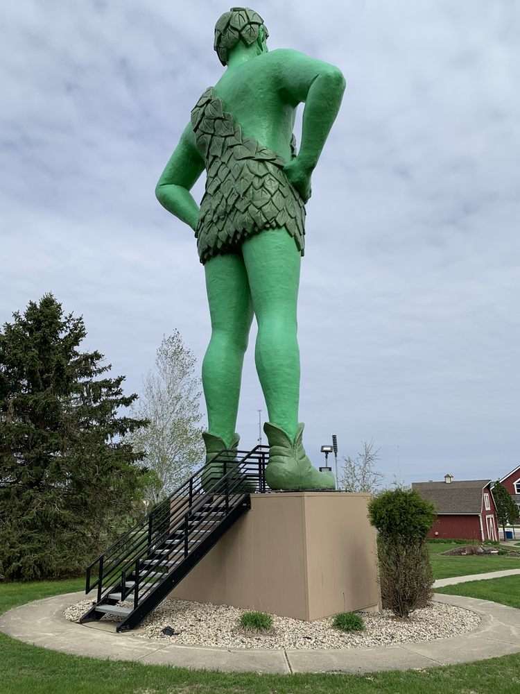 Green Giant Statue Park: Hwy 169, Blue Earth, MN