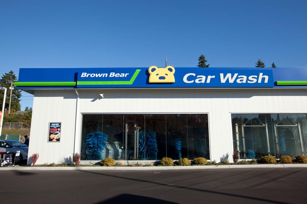 Brown Bear Car Wash Auburn