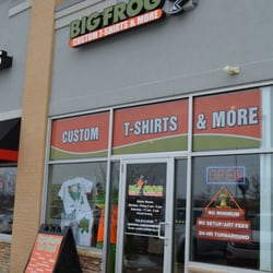 Big frog custom t shirts and more 13 rese as estampado for T shirt printing franchise