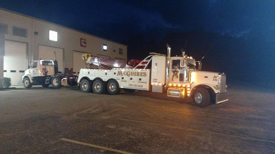 Photo of McGuire's Towing & Recovery: Ashland, KY