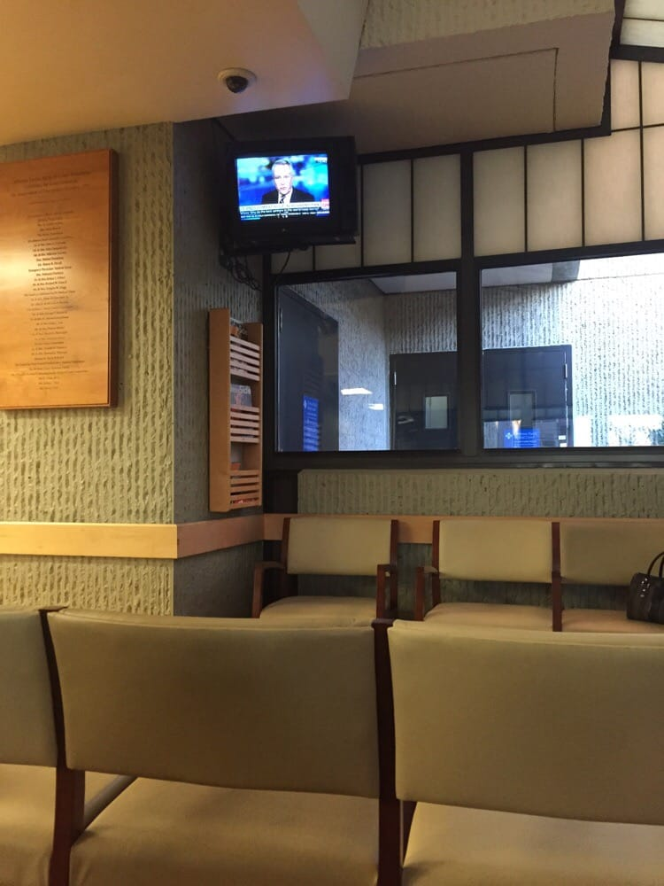 Menu For Olive Garden: 20th Century Analog Zenith Tv In Waiting Room