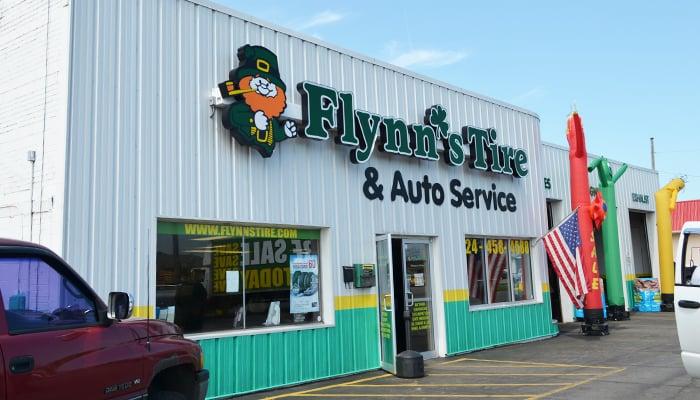 Flynn's Tire & Auto Service: 810 W Main St, Grove City, PA
