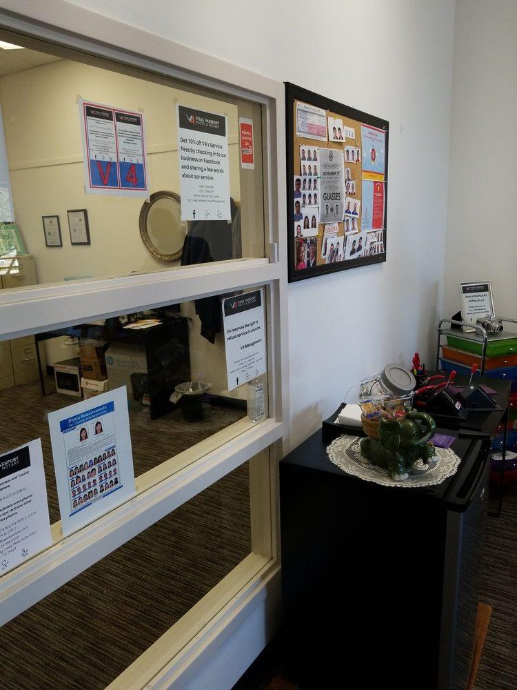 V4 Visas Passport Photo & Notary Services: 820 W Spring Creek Pkwy, Plano, TX
