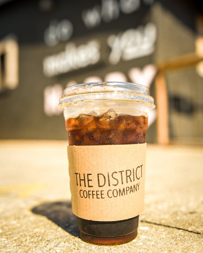 The District Coffee Company: 1301 Government St, Ocean Springs, MS