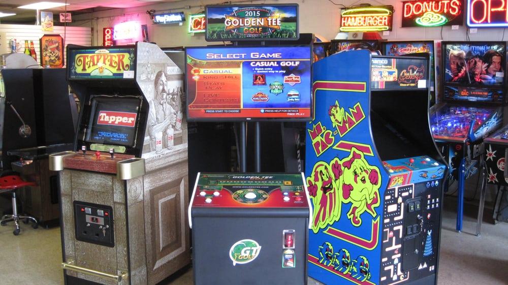 Big Toys Arcades 33133 Mound Rd Sterling Heights Mi