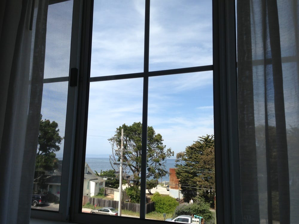 view of the monterey bay from our window yelp. Black Bedroom Furniture Sets. Home Design Ideas