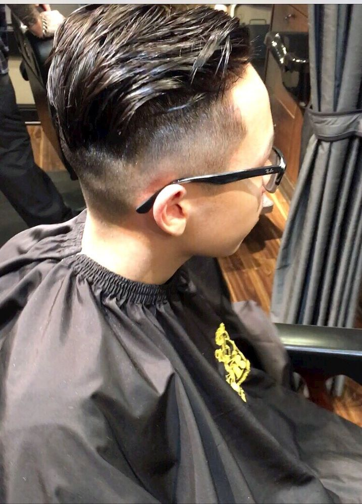 Haircut By Aaron Tight Fade And Long On Top Yelp