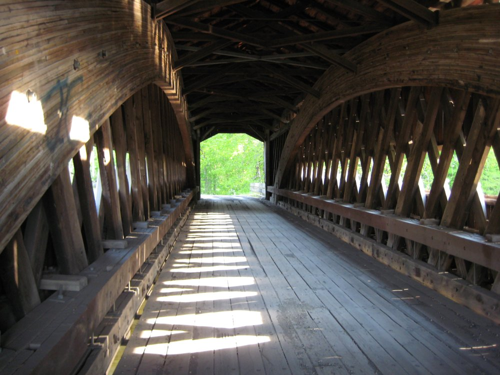 Benetka Road Covered Bridge: 4150 Co Hwy 21, Jefferson, OH