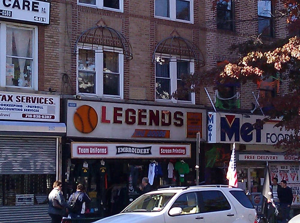 Legends Sporting Goods: 8224 5th Ave, Brooklyn, NY