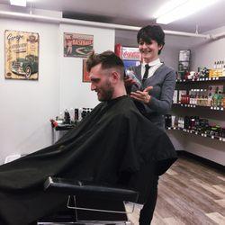 Photo Of Mr Barber School Edmonton Ab Canada The Impromptu Haircut
