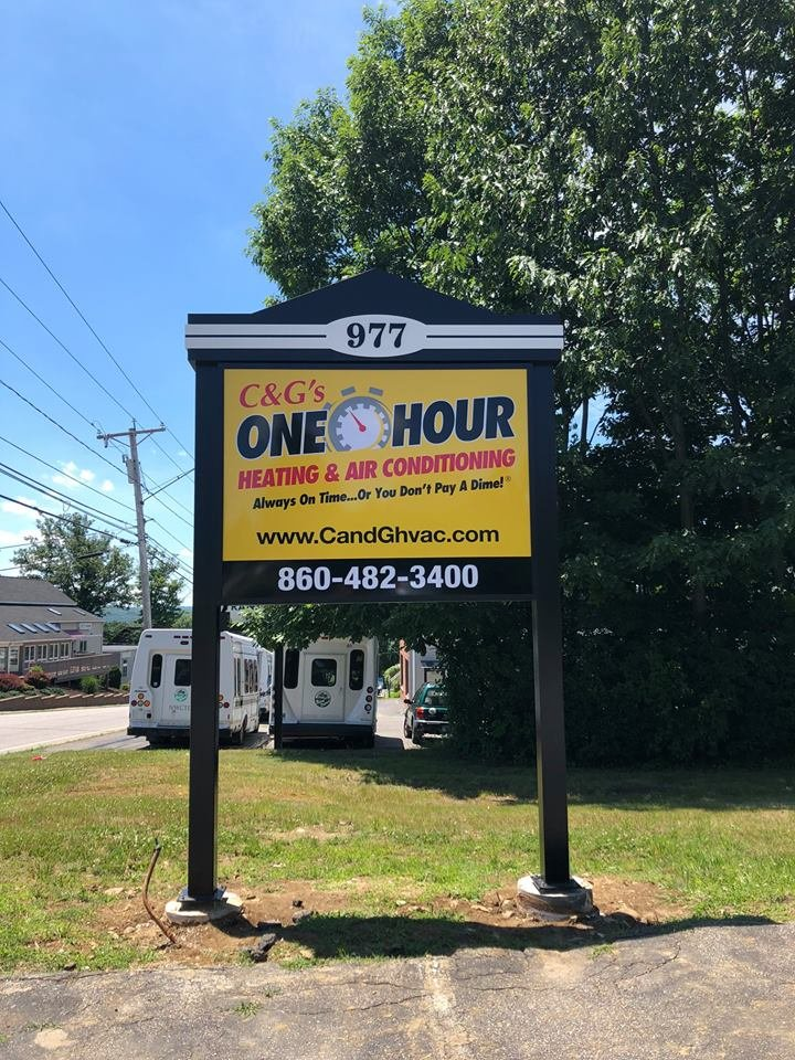 C&G's One Hour Heating & Air Conditioning: 977 E Main St, Torrington, CT