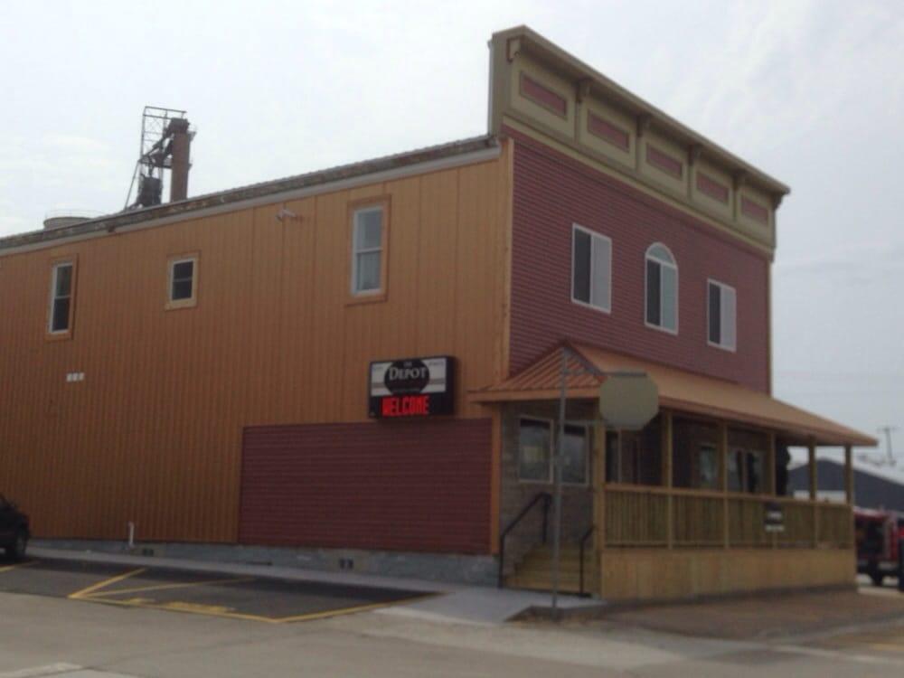 The Depot: 101 S Main St, Donahue, IA