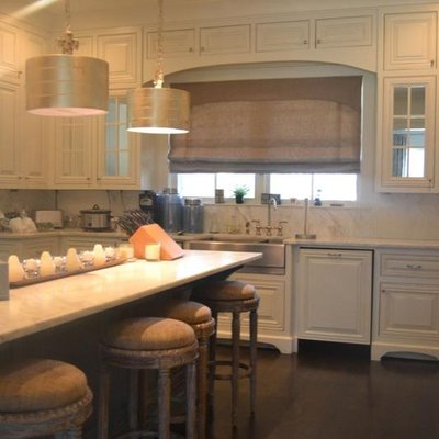 Southern Kitchen Design - Countertop Installation - 21635 Glass And ...