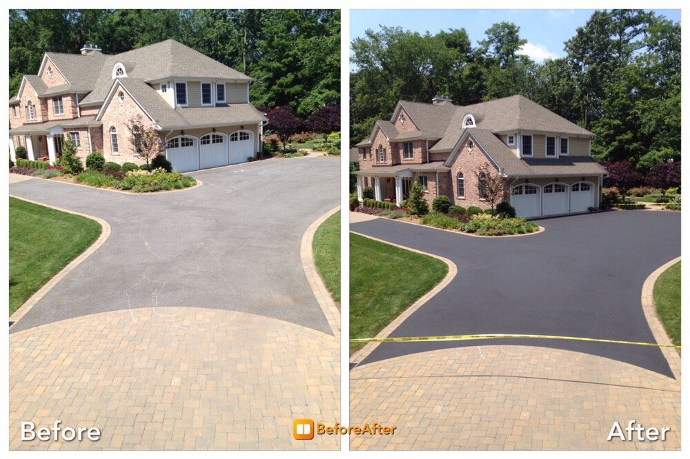 21 Photos For Bottom Line Striping And Pitch Black Northeast