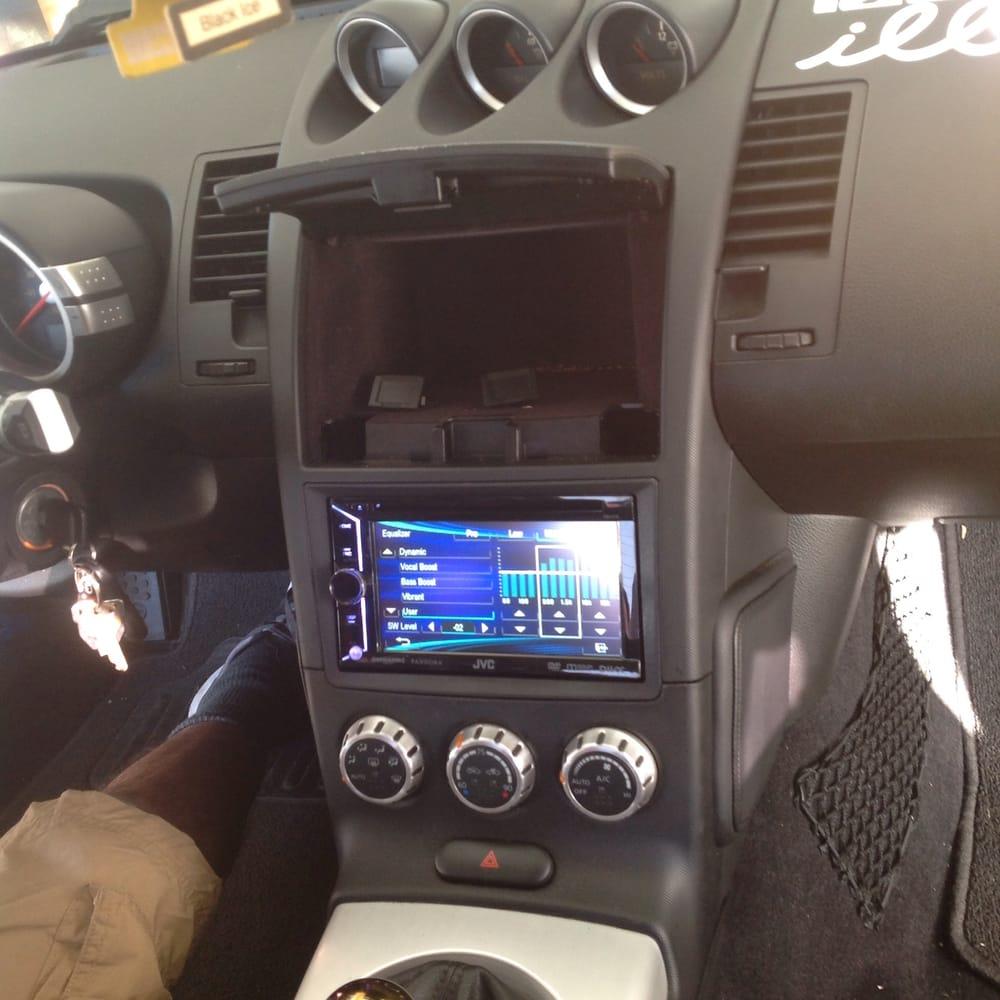 Nissan 370Z Radio Upgrade Jvc Touch Screen Deck