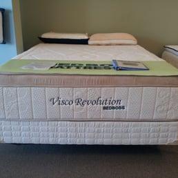 Wholesale mattress warehouse furniture stores 4508 van for Bed boss visco elite