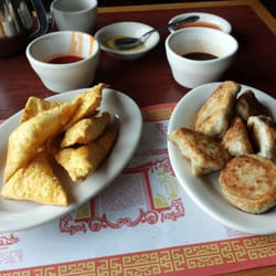 Photo of Lucky Dragon - Havertown, PA, United States. Cheese wontons on the