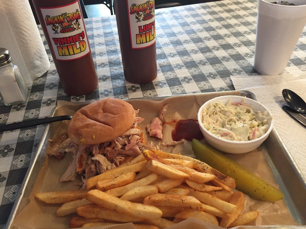 Smokin Crowes Bbq: 5517 W State Rd 56, Hanover, IN
