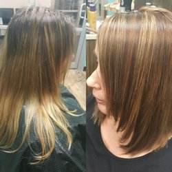 Serendipity salon 58 photos hair extensions 12689 photo of serendipity salon louisville ky united states before and after cut pmusecretfo Images