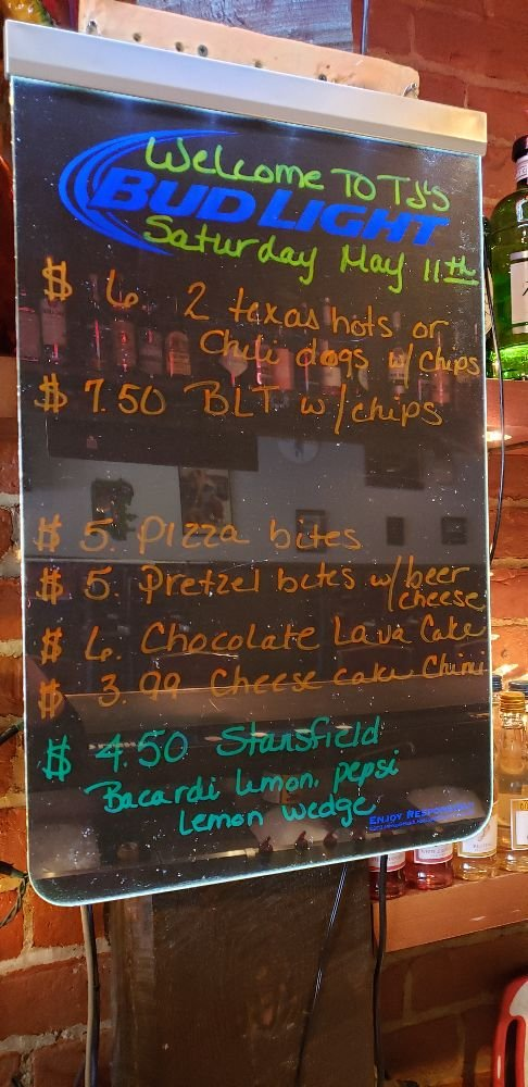 TJ'S Bar and Grill: 230 W Main St, Montour Falls, NY