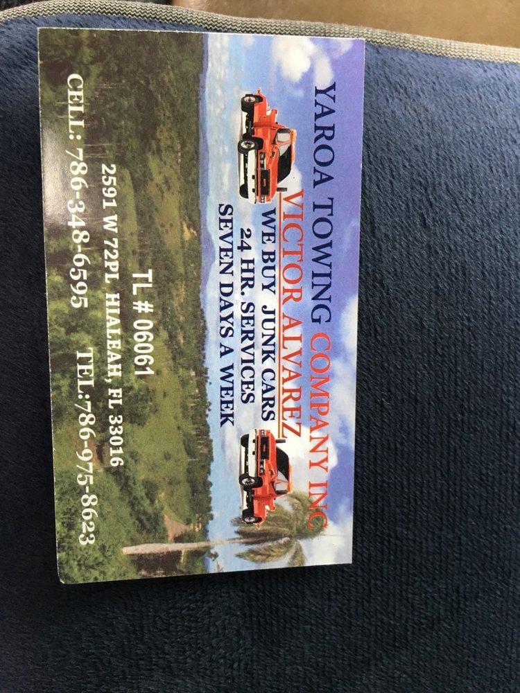 Towing business in Hialeah Gardens, FL