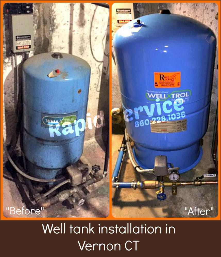 well tank / holding tank / pressure tank installation in ... well water holding tank wiring