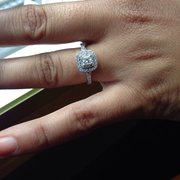 efc9aa43b My husband upgraded my Photo of Kay Jewelers - Montebello, CA, United  States. Picking up the fiancées