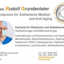 Dr Med Rudolf Grundentaler Plastic Surgeons Ruschestr