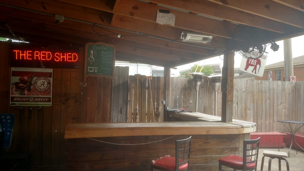 Photo Of The Red Shed   Tuscaloosa, AL, United States. The Patio Bar