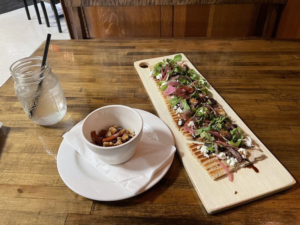 Food from Bucha Brewhouse & Bistro