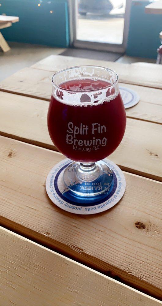 Split Fin Brewing: 60 Butler St, Midway, GA