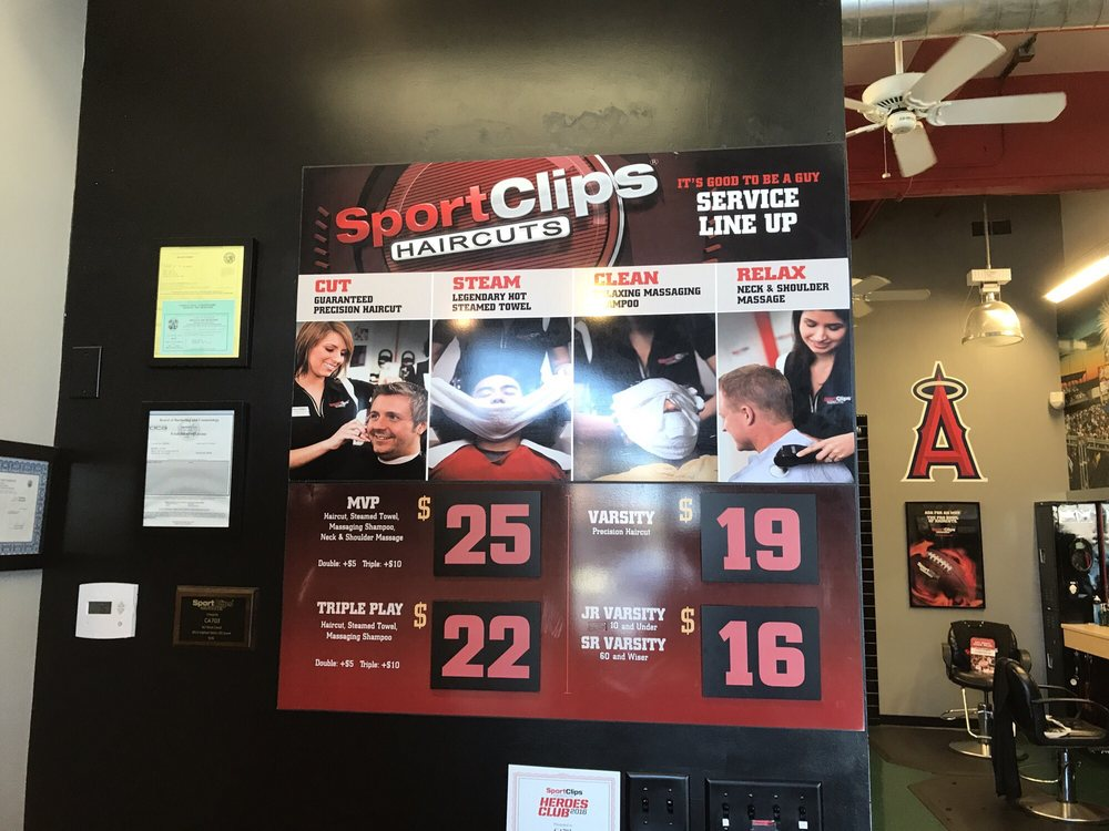 Sport Clips Haircuts Of Valencia 55 Reviews Barbers 26818 The