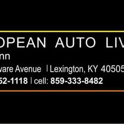 Photo Of European Auto Livery Lexington Ky United States