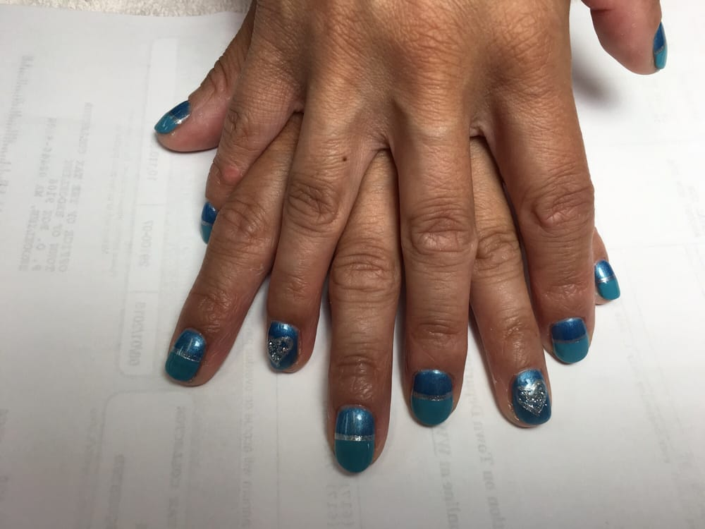 My First Nail Design With Amazing Nail Tan Yelp