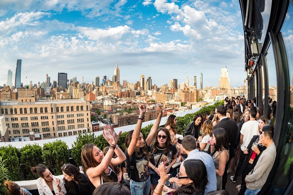 PHD Rooftop Lounge - 355 W 16th St, Chelsea, New York, NY