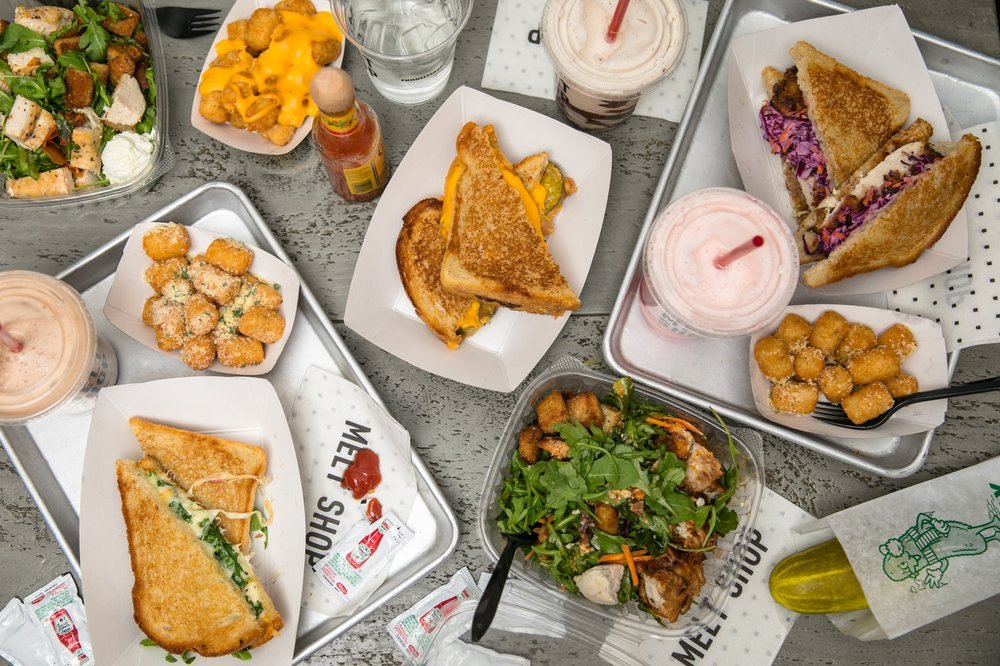 Food from Melt Shop