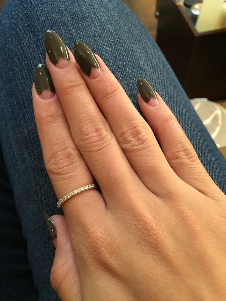 Photo Of The Nail Boutique Brooklyn Ny United States Heart French With