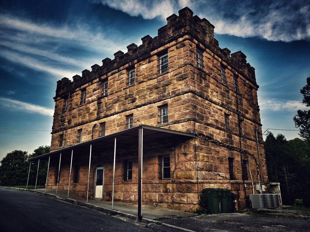Historic Scott County Jail: 214 Litton Covered Bridge Rd, Huntsville, TN