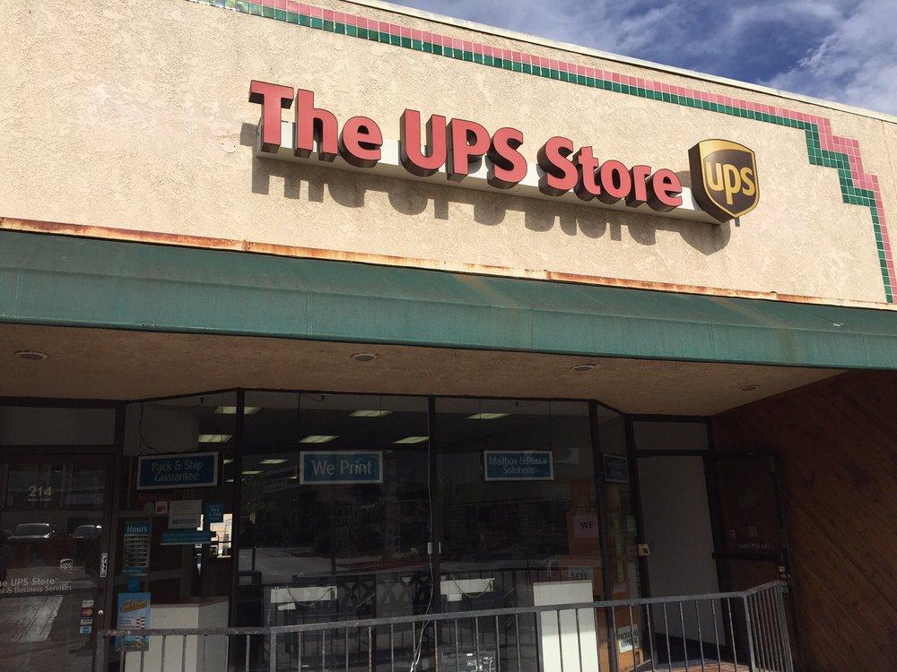 The UPS Store: 214 Main St, El Segundo, CA