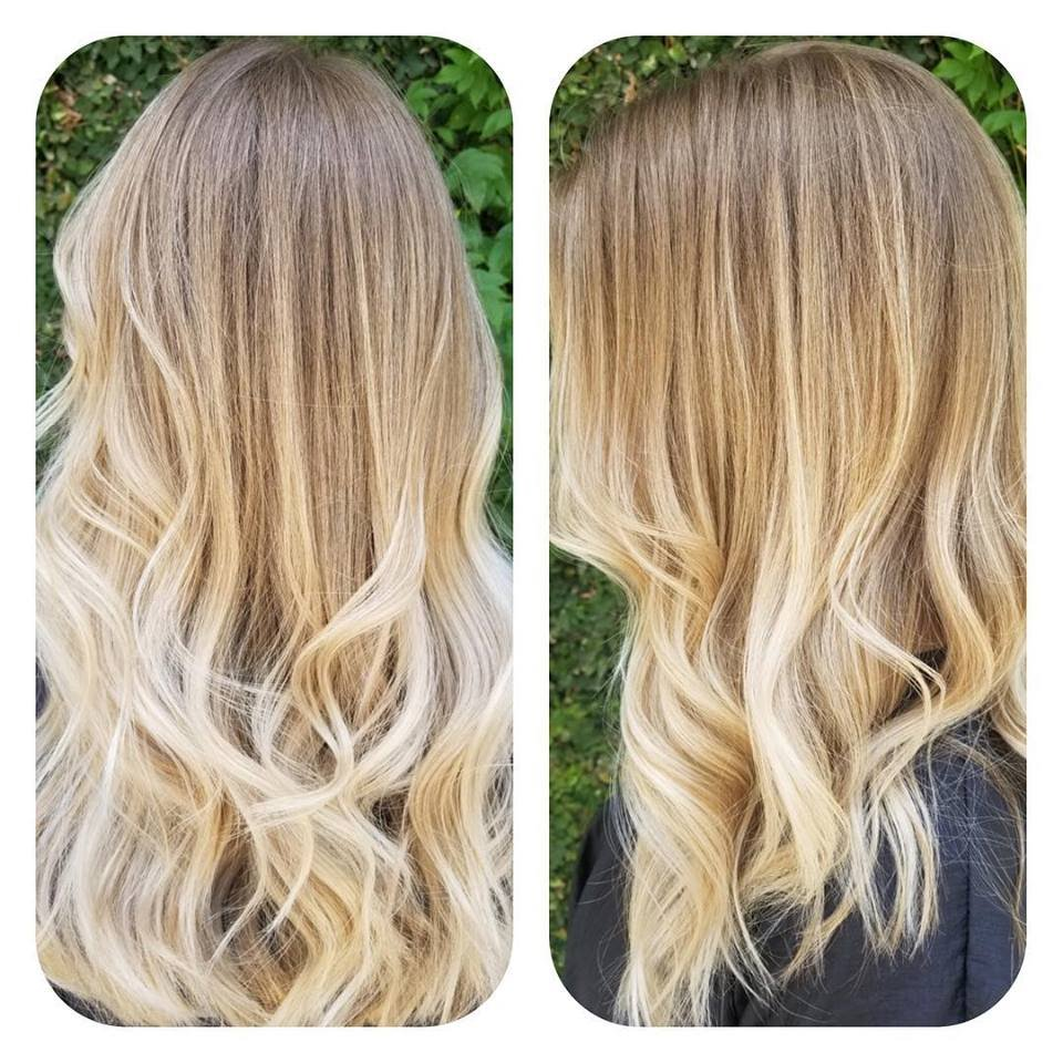Blonde Balayage Haircut And Style By Stefani Pitts Yelp